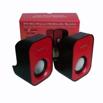 Advance Speaker Duo 026 - Merah