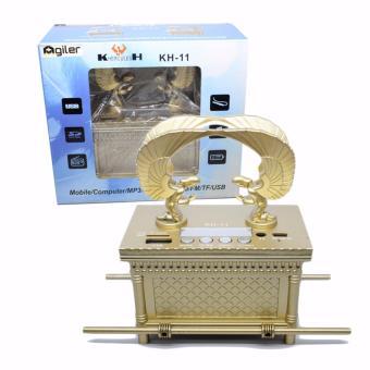 Agiler Mini Speaker Hercules AG-KH11 - Emas