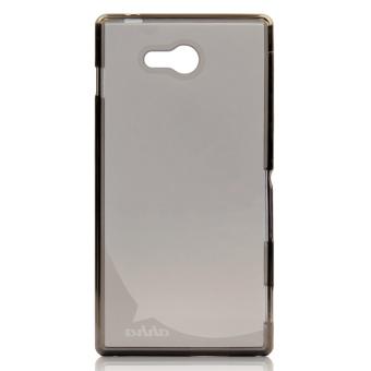Harga Ahha Soft Case Sony Xperia M2 Aqua Clear Black Terbaru klik gambar.