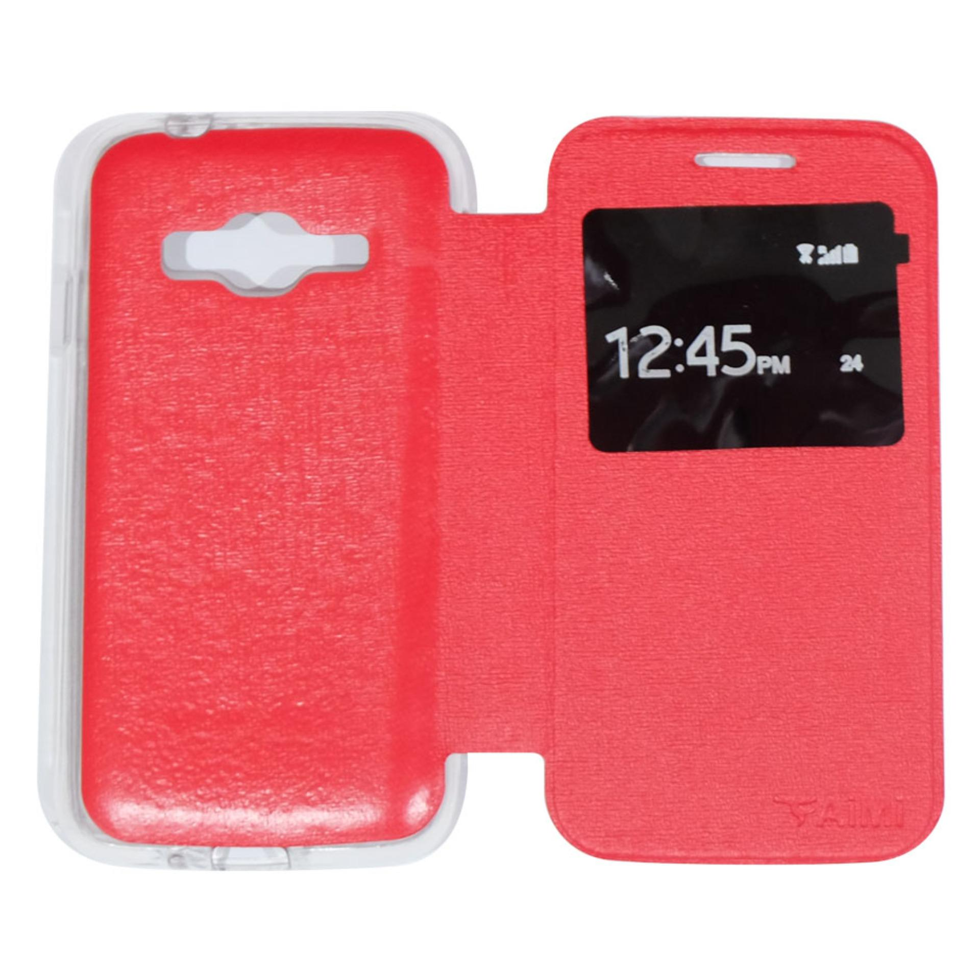 Flash Sale AIMI FlipCover Sarung Kulit For Samsung Galaxy J1 Mini Prime V2Flipshell / Leather Case / Flip Cover Kulit / Sarung Case / SarungHandphone ...