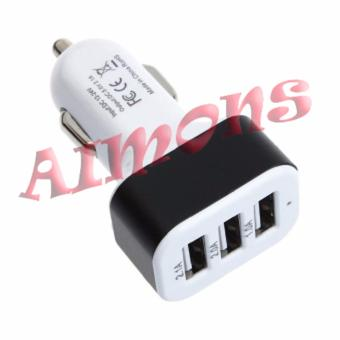 Aimons Charger Mobil 3 Port 5.1A Car Charger