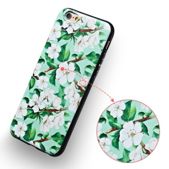 AKABEILA 3D Painted Pattern Coloured Drawing TPU Soft Phone Cover For Apple iPhone 6s Case 4.7 inch For iPhone 6 6s Phone Case - intl - 5