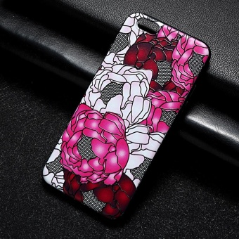 AKABEILA 3D Painted Pattern Coloured Drawing TPU Soft Phone CoverFor Apple iPhone 6s Case 4.7 inch For iPhone 6 6s Phone Case - intl