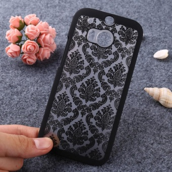 AKABEILA Hollow Flower Phone Cases for HTC One 2 One M8 M8s M8x 5.0inch Hard Plastic Phone Back Covers Case Bag Housing ProtectorShell Hood - intl