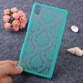 AKABEILA Hollow Flower Phone Cases for Sony Xperia M4 Aqua E2303 E2353 5.0 inch E2306 Hard Plastic Phone Back Covers Case Bag Housing Protector Shell Hood Dual E2333 E2363 E2312 - intl - 4