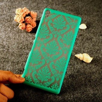 AKABEILA Hollow Flower Phone Cases for Sony Xperia XA Ultra DualF3212 C6 6.0 inch F3216 F3211 F3215 F3213 Hard Plastic Phone BackCovers Case Bag Housing Protector Shell Hood - intl - 4