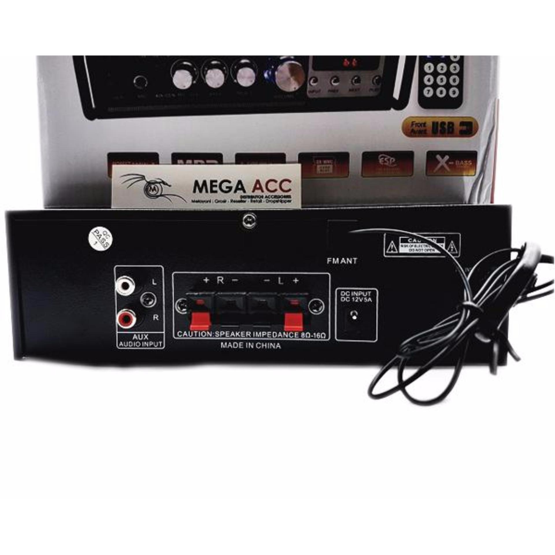 Amplifier Fleco Bluetooth Ak-805 Bt Stereo Karaoke