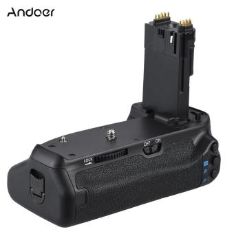 Andoer BG-1T Vertical Grip Holder for Canon EOS 70D/80D DSLR Camera Compatible with 2 * LP-E6 - intl