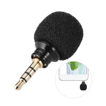Andoer Cellphone Smartphone Portable Mini Omni-Directional Mic Microphone for Recorder for iPad Apple iPhone5 6s 6 Plus Outdoorfree - intl