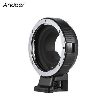 Andoer EF-MFT Electronic Lens Mount Adapter Ring AF Auto FocusAperture Control Auto Exposure Built-in IS for Canon EF/EF-S toM4/3 Camera for Olympus PEN E-P1 P2/3/5 E-PL1 OM-D E-M5 forPanasonic LUMIX GH2/3/4 - intl