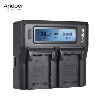 36% Andoer NP-FW50 NPFW50 Dual Channel Digital Camera Charger w