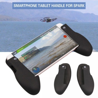 Android IOS Smartphone Tablet Hand Shank Handle Grip for DJI SPARK Drone Mount - intl