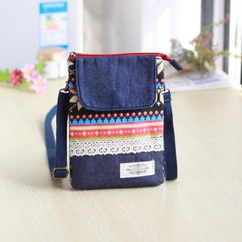 Angin nasional kain Messenger baru dan dompet handphone tas