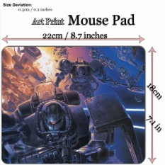 Anime Art Print Mouse Pad Mat (22*18cm) for A335 MS-06 Zaku II - Gundam - intl