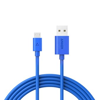 Anker Kevlar Powerline 1.8 m Micro USB Cable(Blue) - intl