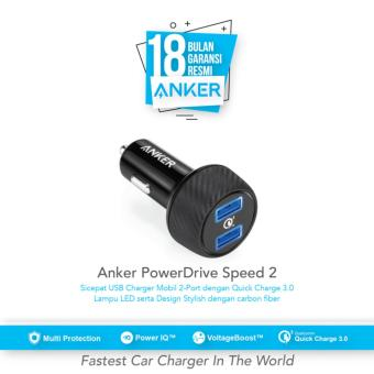 Anker PowerDrive Speed 2 Quick Charge 3.0