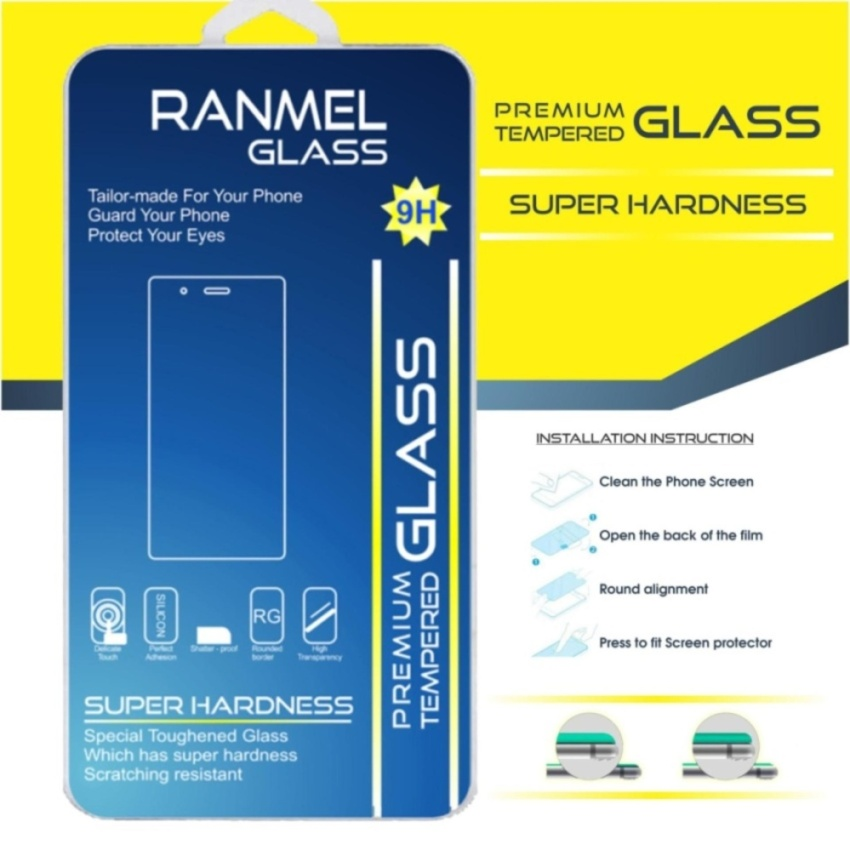 Flash Sale Anti Gores Kaca for Xiaomi Redmi 4x - Premium Tempered Glass -Round Edge 2.5D - Clear