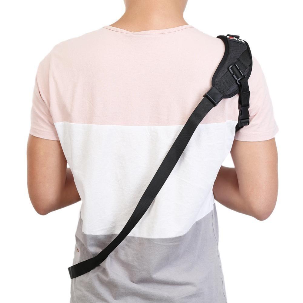 Eshop Checker Anti Slip Quick Rapid Shoulder Sling Belt Neck Strap Caden Camera Kamera For Dslr Cameras Intl