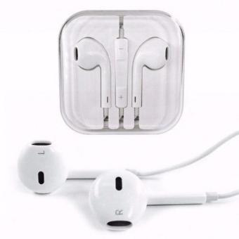 Apple Earphone / Headset / Handsfree For iPhone 4/5/6 White - Original