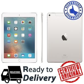 "Apple iPad Pro 12.9"" WiFi+Cell Silver - 256GB - RAM 4GB - Camera 8MP - GARANSI 2 TAHUN"