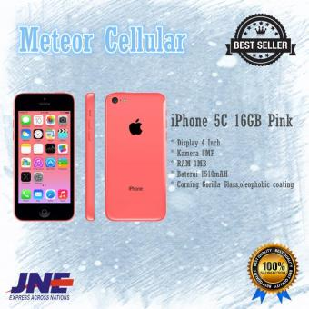 Apple iPhone 5C - 16GB - Pink - Garansi 1 Tahun
