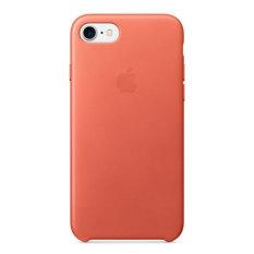 Apple iPhone 7 Leather Case Geranium
