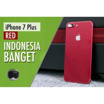 Apple iPhone 7 plus Red Edition - 128GB - RAM 3GB - Camera 12MP - GARANSI INTERNASIONAL