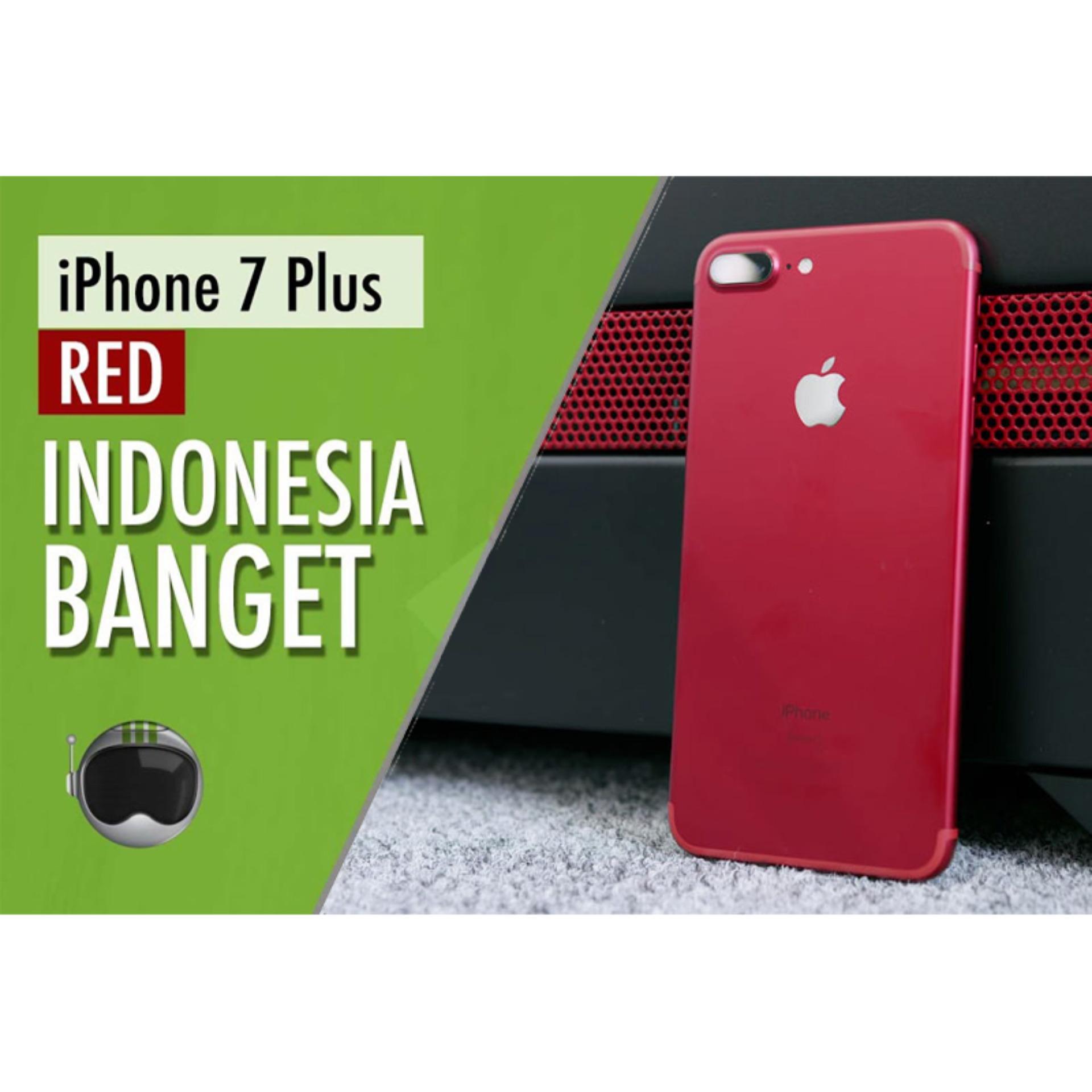 Daftar Harga Apple Iphone 7 Plus Red Edition 128gb Ram 3gb