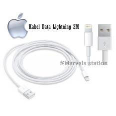 Apple Kabel Data Lightning 2M For Iphone 5/6/7 - Original