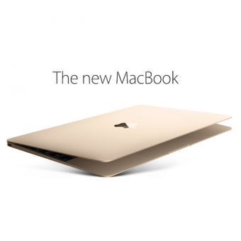 Apple New MacBook 2016 MLHE2 - 12 inch Gold