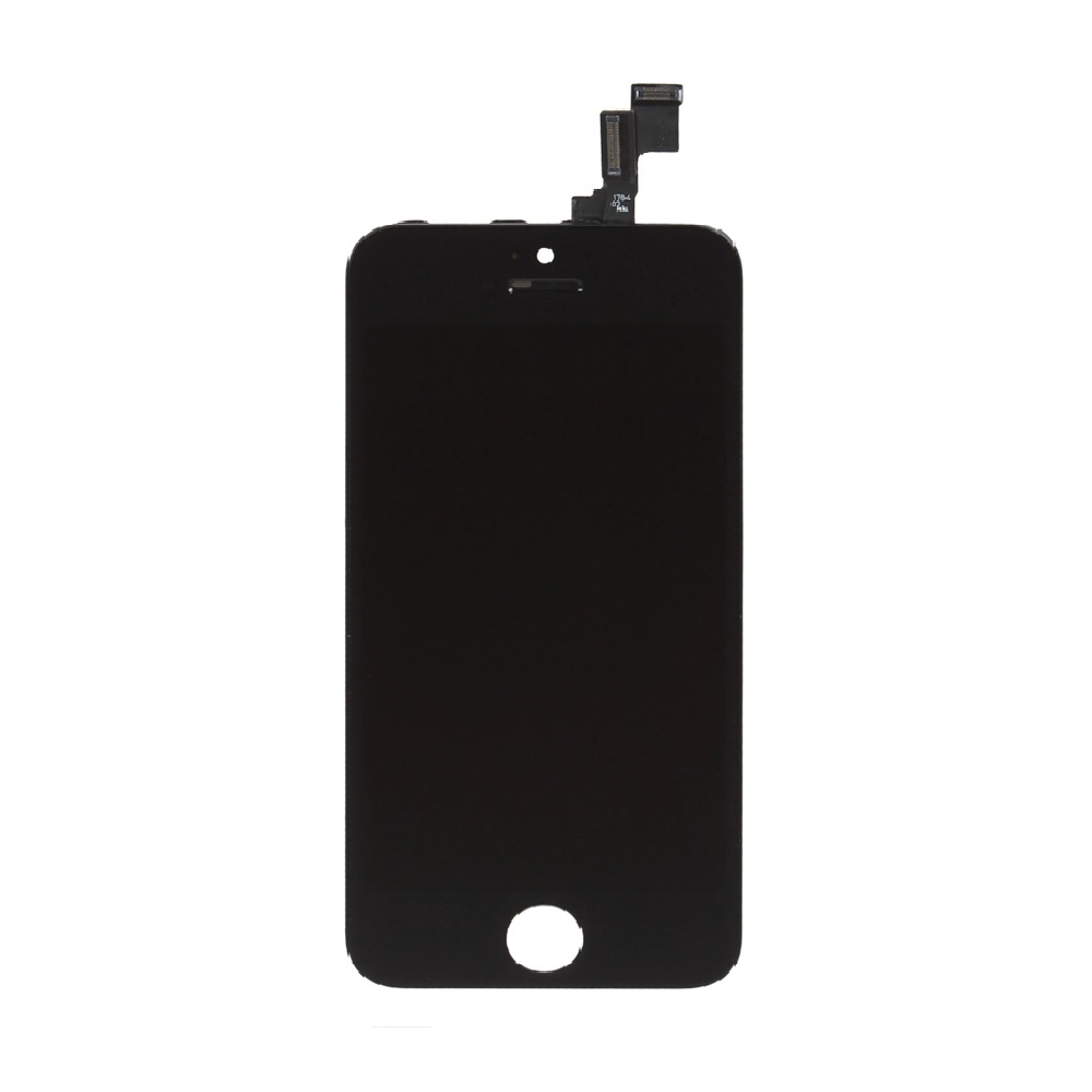... Apple Original iPhone 5S LCD + Touch Screen Assembly Replacement - Hitam/Black ...