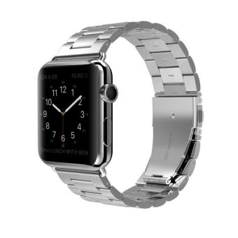 Harga Apple Watch Band Stainless Steel Metal Watch Strap ReplacementBracelet for Apple iWatch 42mm - intl