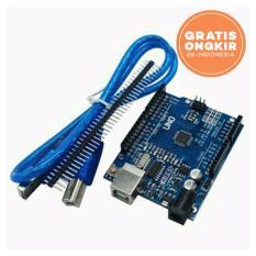 arduino uno r3 atmega 328p smd ch340g + kabel usb & pin header