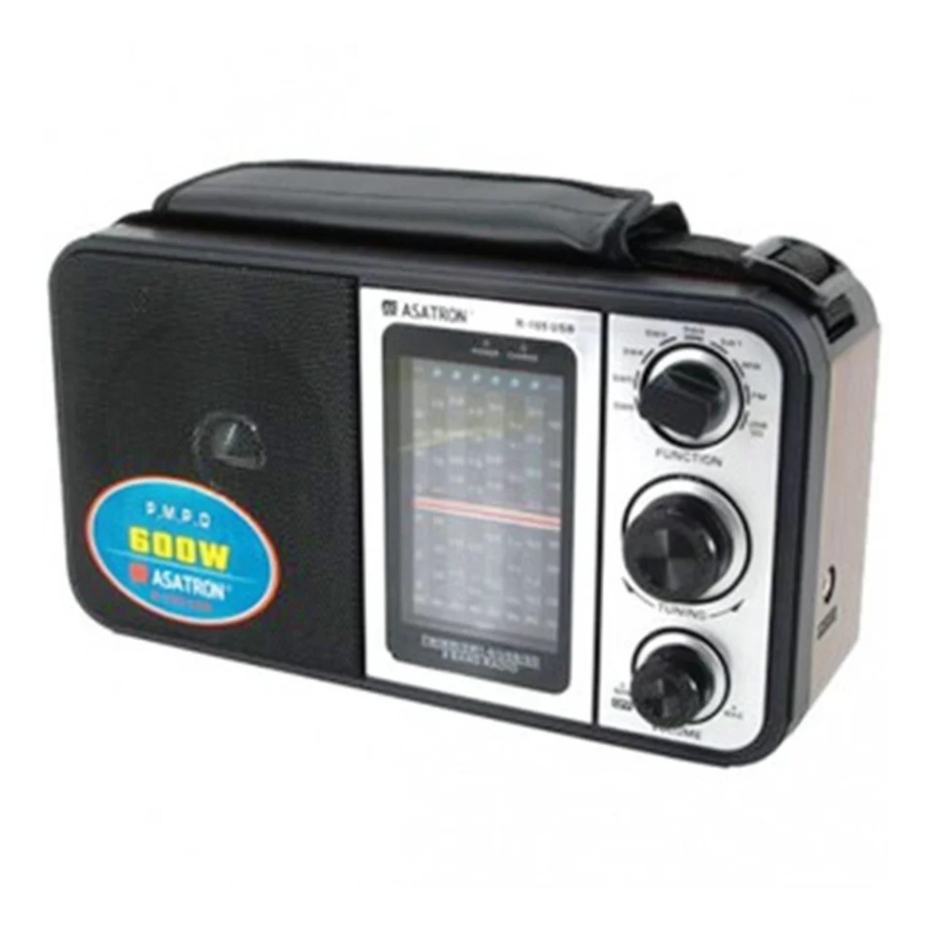 Asatron Radio R-105 USB - Hitam