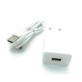 Askhev Travel Charger With Micro USB Cable For Advan - Putih
