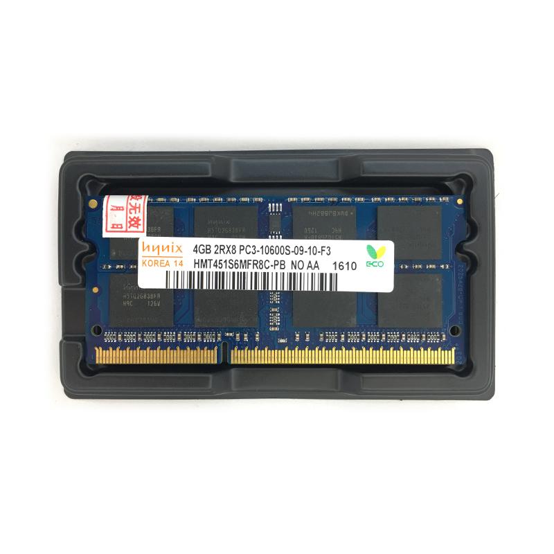 Asli merek baru DDR3 4 GB 1333 mHz PC3-10600 untuk laptop RAM memori 204pin