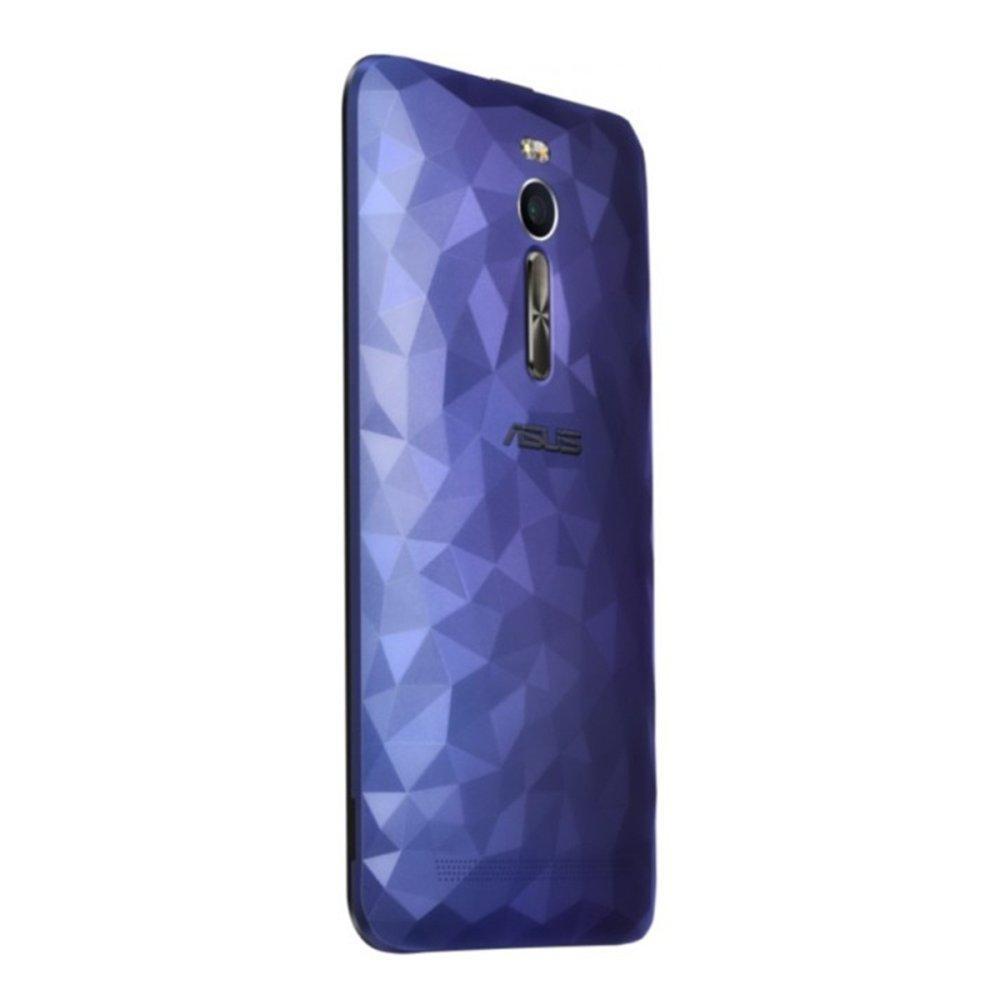 Terbaik Murah Asus Backdoor Class Crystal For Zenfone 2 Ze551ml 55 Back Cover Tutup Belakang Blue