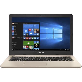 ASUS VivoBook PRO 15 N580VD - Intel Core I7 7700HQ - 8GB RAM - 128SSD & 1000GB HDD - GTX1050 4GB GDDR5 - 15.6Inch - DOS - Metal Gold