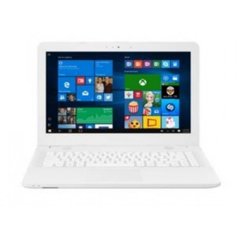 """ASUS X441NA-BX004T - RAM 2GB - Intel N3350 - 14"""" - Win10 - Putih"""