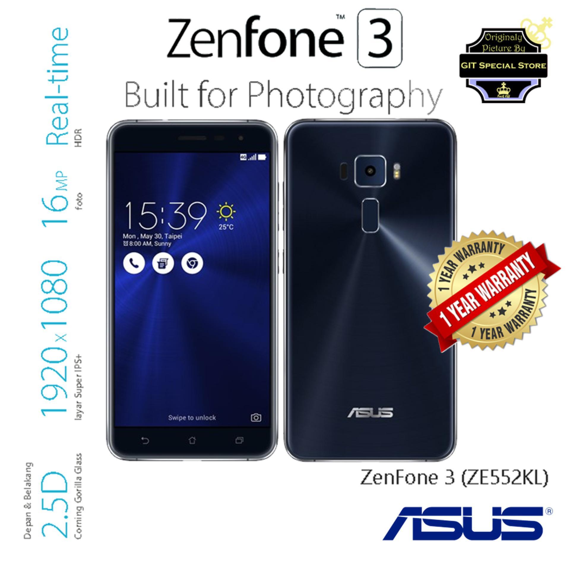 Perbandingan Harga Asus Zenfone 3 Ze552kl 4 64gb 55 Inches 4g Lte Max Zc520tl Garansi Resmi