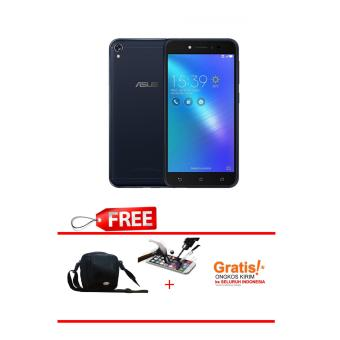 Asus Zenfone Live - ZB501KL - 16GB - Black -Free Tas + Tempered Glass