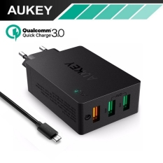 AUKEY PA-T14 Quick Charge 3.0 Wall Charger USB 3 Port Fast Charging