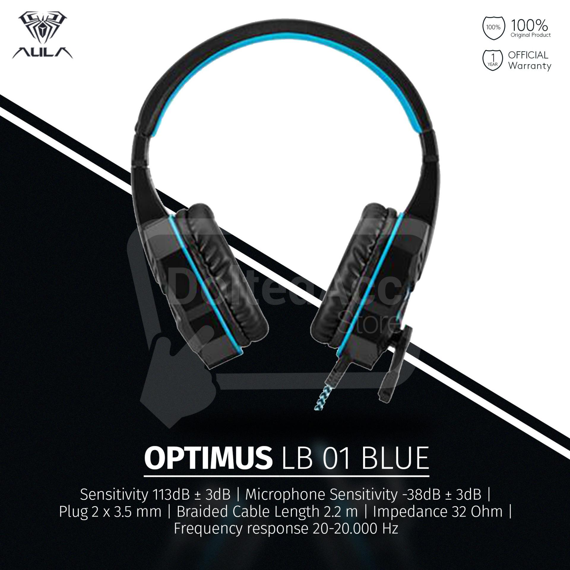 Beli Aula Sapphire Mechanical Gaming Keyboard With Blue Switch No Mouse Incubus Lb01 Headset Mic Hitam