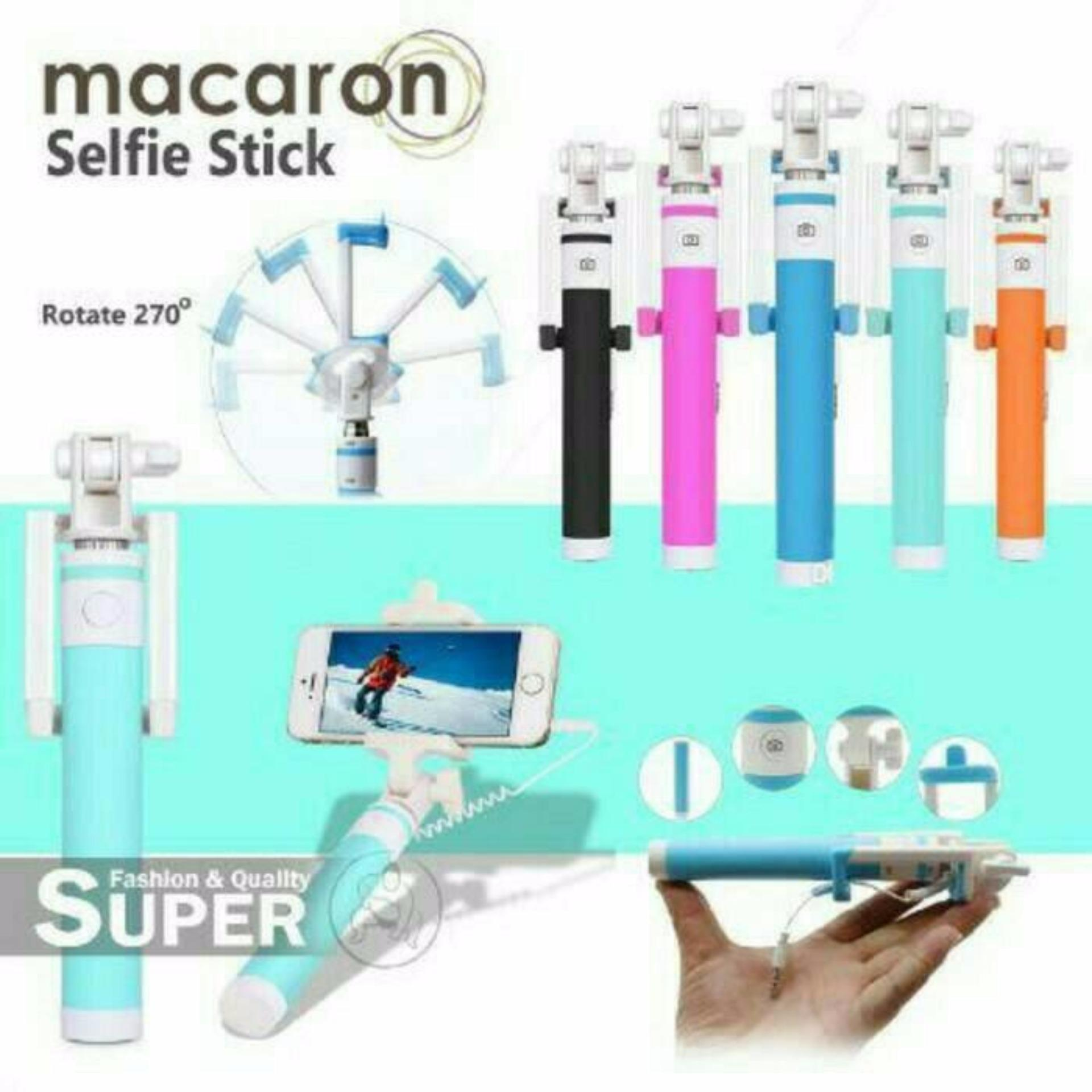 Monopod Paket Hemat 4in1 Tongsis Lensa Superwide Fisheye 3in1 Minnion 3in Powerbank Authentic Selfie Stick High Quality Macaron Lipat Kabeltombol Wired For