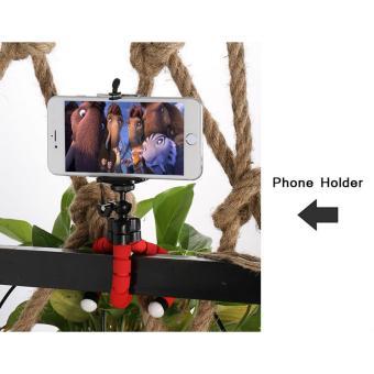 ... Gurita Tumpuan Kaki Tiga Terbaru. Baby Talk Tripod Flexible Octopus Bracket With Holder Stand Mount for Gopro Camera/SLR /