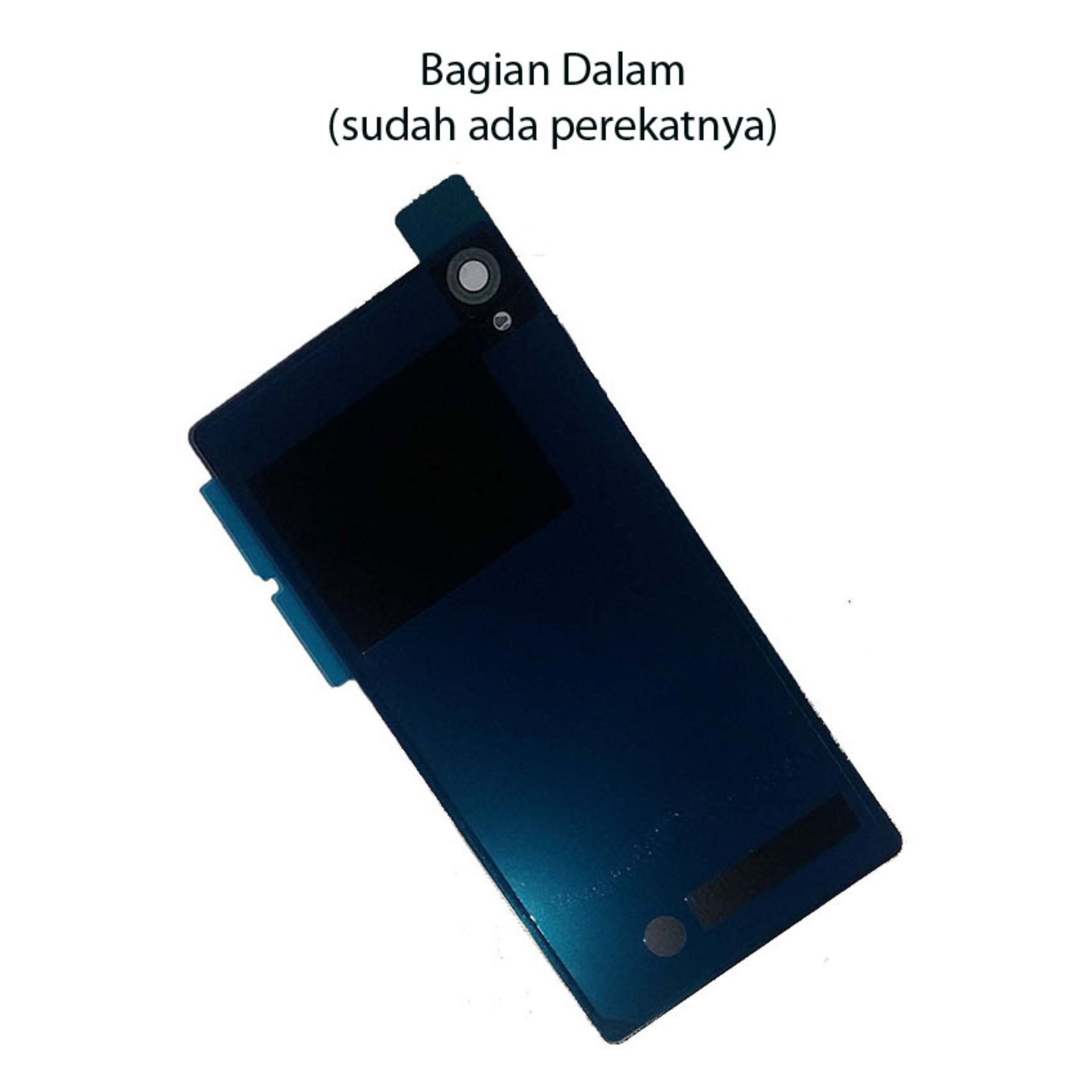 Backdoor/casing belakang Sony Xperia Z2 - Black ...