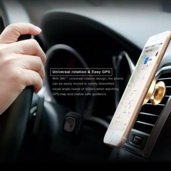 Baseus 360 Degree Universal Car Holder Magnetic Air Vent Mount Mobile Phone Holder .