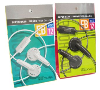 ... Basic Ear Bud Earphone EB-12 - Putih - 3