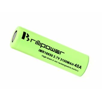 Baterai Brillipower 3100mAh Rokok Elektrik High Drain Rechargeable Tipe 18650