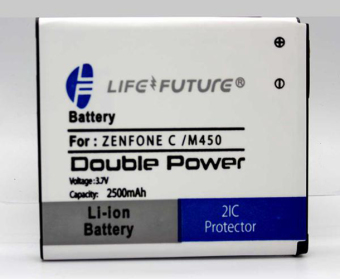 Batre / Battery / Baterai Lf Asus Zenfone C / M450 Double Power